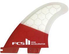 FCS II Accelerator PC Tri Surf Fin Set