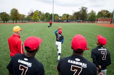 Calvert Hall College High School senior recently led a baseball clinic for a group of kids from Baltimore City. As a peer minister and varsity baseball player at Calvert Hall, he wanted to incorporate his talents and passion for service to give back to the community.