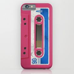 Pink Tape iPhone & iPod Case