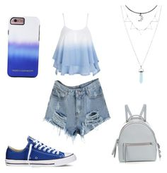 Untitled #3 by ana-ioan on Polyvore featuring polyvore, fashion, style, Converse, Fendi, Hot Topic, Rebecca Minkoff and clothing