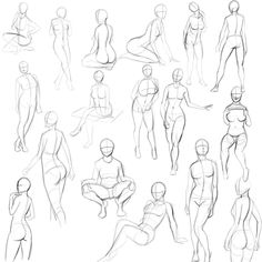 5_minute_pinup_pose_sketches_by_jay156-d7l7gjx.jpg (1024×1024)