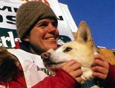 Susan Butcher. First Female Iditarod winner.