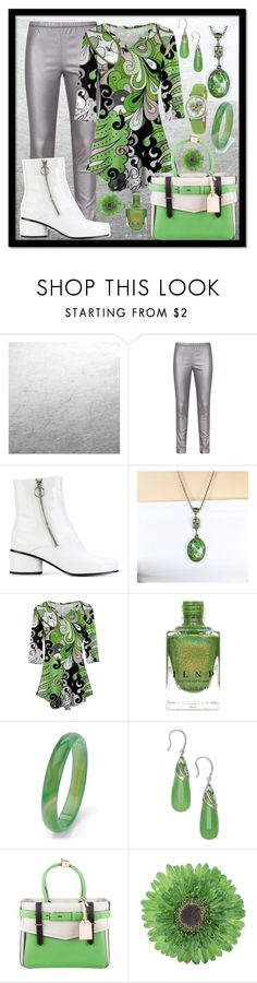 """Bold Color with White Boots"" by aurorasblueheaven ❤ liked on Polyvore featuring Zhenzi, Marc Jacobs, Palm Beach Jewelry, Reed Krakoff, NOVICA and Stührling"