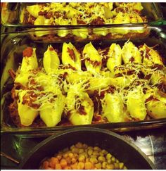Stuffed shells... My fav!!