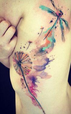 Watercolor tattoo. #MicraAttitudeSI