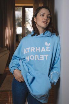 Medvedeva, Graphic Sweatshirt, Photoshoot, Sweatshirts, Sweaters, Fashion, Moda, Photo Shoot, Fashion Styles