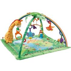 Fisher-Price Rainforest Melodies and Lights Deluxe Gym --- http://www.amazon.com/Fisher-Price-Rainforest-Melodies-Lights-Deluxe/dp/B000FFL58Q/?tag=lifeskillsf08-20