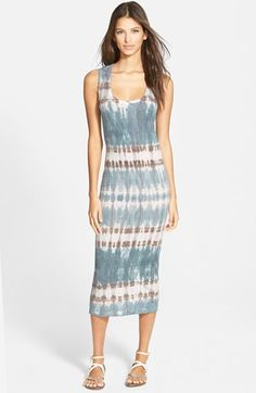 Young, Fabulous & Broke 'Denny' Racerback Midi Dress available at #Nordstrom
