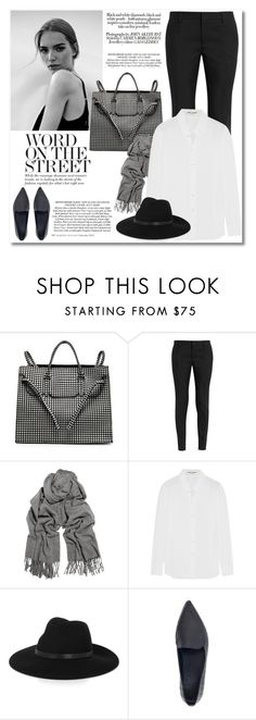 """Stay classy"" by galina-gavrailova ❤ liked on Polyvore featuring Slow and Steady Wins the Race, Yves Saint Laurent, Acne Studios, By Malene Birger, women's clothing, women, female, woman, misses and juniors"