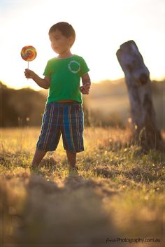 Lollipop Sunset Photography - Kids Portrait
