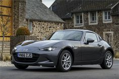 It's no surprise that Mazda has launched a coupe-convertible version of the superb latest MX-5 - called the RF or 'retractable fastback'.