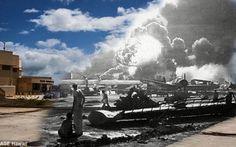 Pearl Harbor - fotoconfronto tra ieri e oggi A Pearl Harbor persero la vita 2.400 marinai, marines e soldati. Un attacco imponente che ha segnato la Storia e ha sancito l'entrata in guerra degli Stati Uniti. #ww2 #wwii #war #guerra #storia