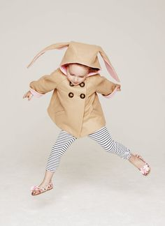 A coat for your honey bunny.
