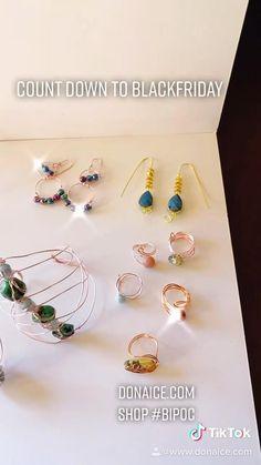 #wirewrappedjewelry #jewelrydesigner #rosegold #crystals #fashion #holiday Wire Wrapped Jewelry, Jewelry Design, Rose Gold, Drop Earrings, Crystals, Holiday, Black, Fashion, Moda