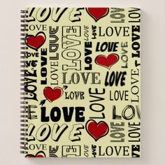 Love Notebook - valentines day gifts gift idea diy customize special couple love