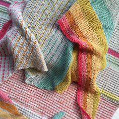 On the Spice Market shawl Shalimar Kits
