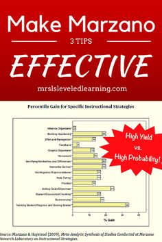 3 Tips Make Marzano Scales Effective - Mrs. L's Leveled Learning