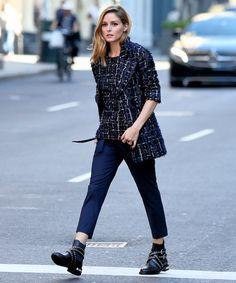 Olivia Palermo Embraces Autumn in Latest Look | InStyle.com