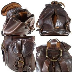 double rl backpack | BAGSizeFREE】DOUBLERL(ダブルアールエル)レザー ...