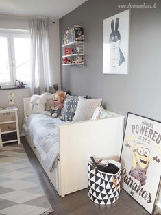 Kinderzimmer ikea hemnes  mommo design: IKEA HACKS WITH PAINT - Hemnes bed | KiDS FURNITuRE ...