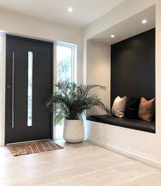 Home Design Decor, Home Room Design, Dream Home Design, Home Interior Design, Interior Decorating, House Design, Flur Design, Home Entrance Decor, House Rooms