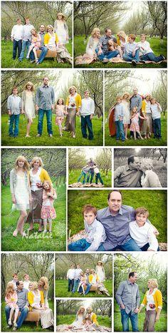 so many good family posing ideas.