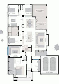 Floor plan RHS