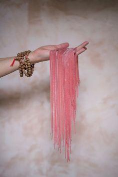 Handmade Roasted betroot tagliarini | photo by Catia Lemmi