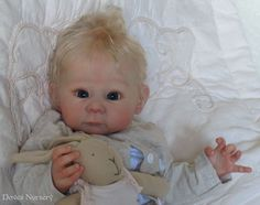 Doves Nursery ~ Reborn Newborn Baby Girl ~ 'LIZZY' An Adrie Stoete sculpt