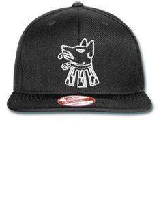 929f23a077956 dog escodo de ciudad neza embroidery - New Era Flat Bill Snapback Cap