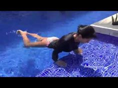 Water Pilates - Hidro Pilates - Acqua Pilates - litle demonstracion - YouTube