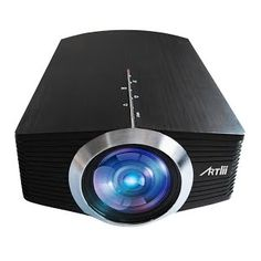 """""""Features & Benefits"""" Home Theatre Projector, Artlii LCD Video Projector 1600 Lumens Support 1080P Cinema Theater Projector Portable Pico Projector for Video Games, Movies, Available for iPad, iPhone, Smartphones, Laptops"""