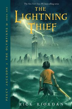 The Lightning Thief, by Rick Riordan | The 37 Best YA Books Of All Time