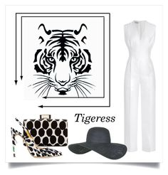 """Tigeress"" by conch-lady ❤ liked on Polyvore featuring Lanvin, Jerome C. Rousseau, Emilia Wickstead, Topshop, women's clothing, women, female, woman, misses and juniors"