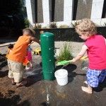 #Nature #play outside, who wouldn't want a watering hole to #play in? #earlyed
