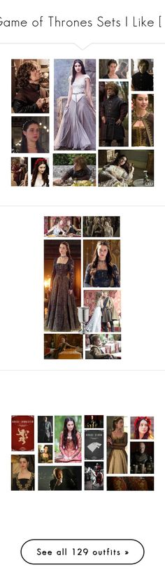 """""""Game of Thrones Sets I Like [1]"""" by demiwitch-of-mischief ❤ liked on Polyvore featuring Payne, Kane, Episode, TIARA, Versace, Katie, Gipsy, Once Upon a Time, Zoya and Murphy"""