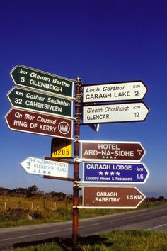 How many of these have you seen? Try to pronounce those destinations!