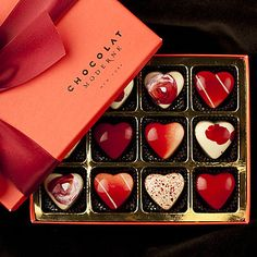 Chocolat Moderne - Mysteries of Love White Chocolate Box