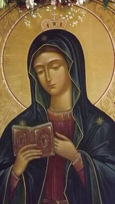 Russian Icon of the Mother of God of Kaluga