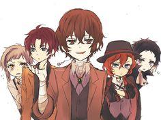 Atsushi & Odasaku & Dazai & Chuuya & Akutagawa