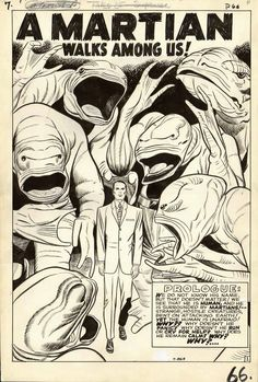 I have this on a tee shirt i bought in 2002 at Heroes comic book store, in campbell , ca. !~~~Jack Kirby