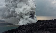 A Popular Lava Viewing Area Just Collapsed Into the Ocean