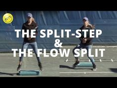 So many player DO NOT do this. Take a moment and watch this video. A split-step can make all the difference in readiness and a winning match.