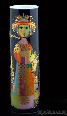 Bjorn Wiinblad for Rosenthal Vase Vintage Ceramic, Ceramic Art, Art Addiction, Scandinavian Art, Vintage Textiles, Museum Of Modern Art, Danish Design, Op Art, Scandinavian