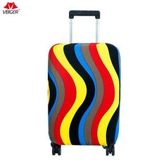 Good Vibes Only Elastic Travel Luggage Cover,Double Print Fashion Washable Suitcase Protective Cover Fits 18-32inch Luggage
