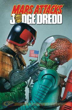 Mars vs Dredd