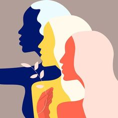 International Women's Day 2018 on Behance Art And Illustration, Graphic Design Illustration, Illustrations, Feminism Poster, Frida Art, Posca Art, Women Poster, Buch Design, Feminist Art