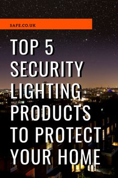 There's an ongoing debate about whether security lights really provide any benefits. However, here at Safe, we believe that security lights, when used correctly, will deter thieves and burglars. View Video, Hd Video, Security Lighting, Home Security Tips, Energy Bill, Home Safes, Light Camera, Protecting Your Home, Lighting Products