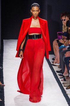 Balmain, S/S 2015, Paris Fashion Week