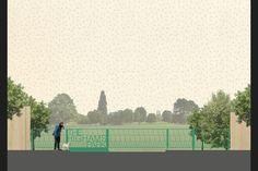 Merrett Houmøller Architects and Colin Priest - The Highams Park Gates